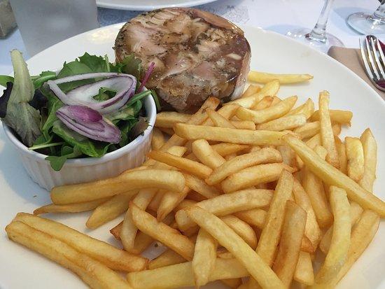 La Chicoree: Potjevleesh frites