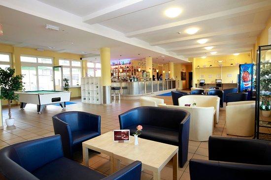 A&O Nuernberg Hauptbahnhof: Lobby