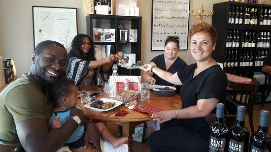 Eysines, Frankrike: Amis américains de passage
