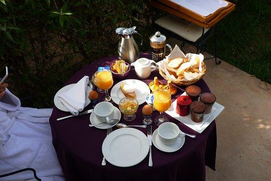 Hotel Dar Zitoune: Zalig en uitgebreid ontbijt