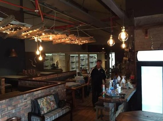Oost-Kaap, Zuid-Afrika: Inside the new Restaurant