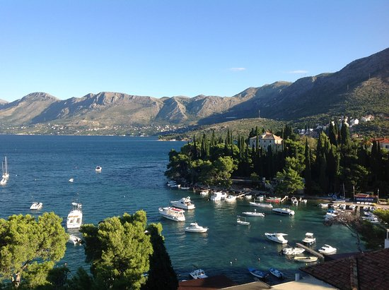 Hotel Cavtat: View from room 603