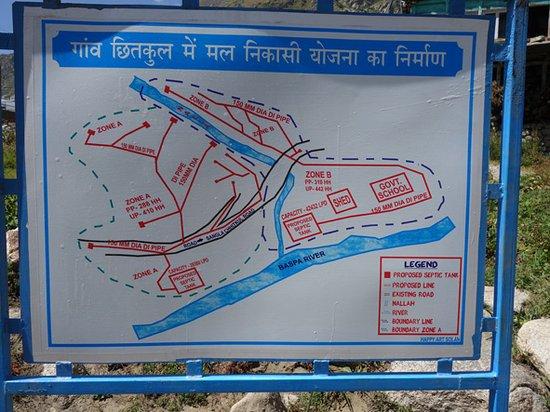 Sangla, Ινδία: Design for new sewerage system