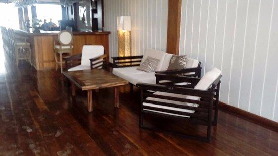 Umaya Resort & Adventures: At the lobby.