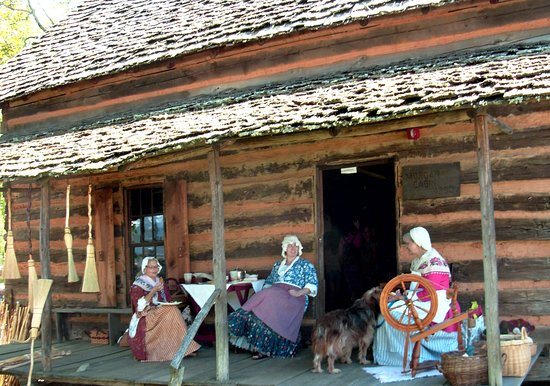 Old Fort, NC: Last Saturday in April - Pioneer Day at Mountain Gateway Museum.