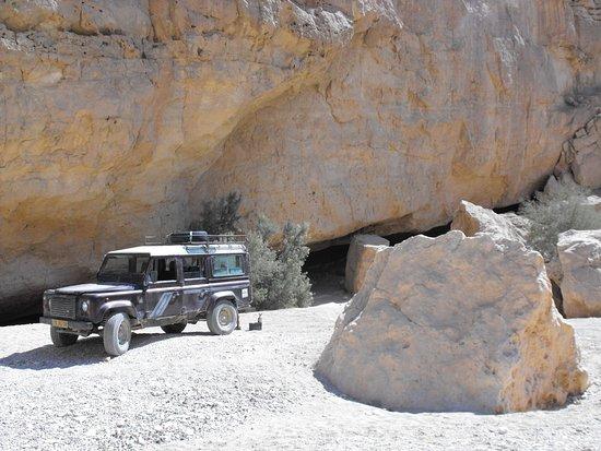 Petra Tours: הפסקת תה בנחל נקרות.