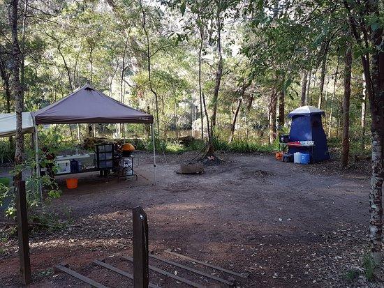 Pemberton, Australia: Glamping at Draftys Campsite.