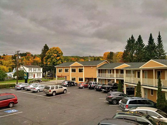 Barre, VT: Vue depuis les chambres 242/243