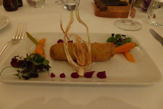 Cellar Restaurant: Soggy boar croquet