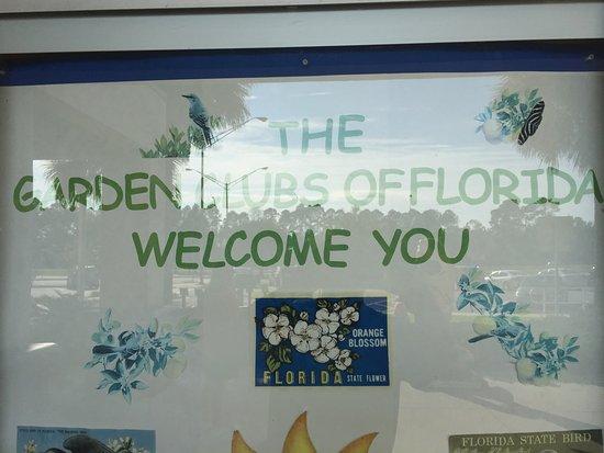 Yulee, Flórida: Welcome sign