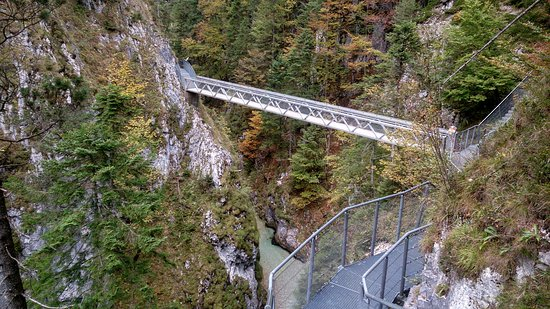 Лейташ, Австрия: Leutaschklamm Höllenbrücke