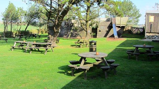 Jamaica Inn: Rear Garden Pirate Ship