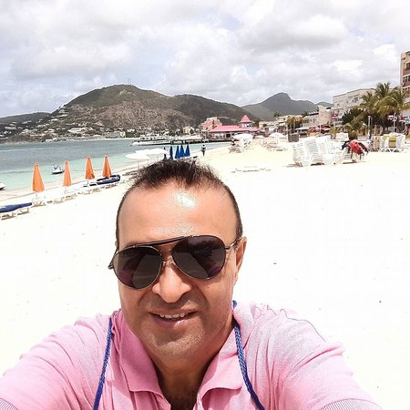 Grand Case, Saint-Martin / Sint Maarten: Hermosa playa