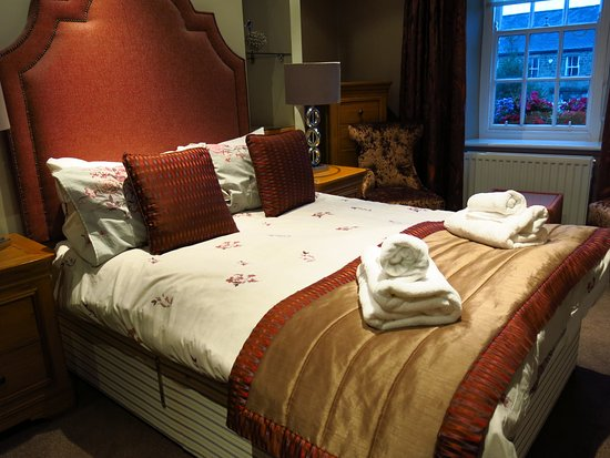 The Angel Inn: Very comfortable, well appointed room