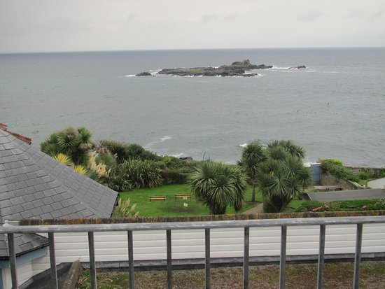 Mousehole, UK : View from Room 15