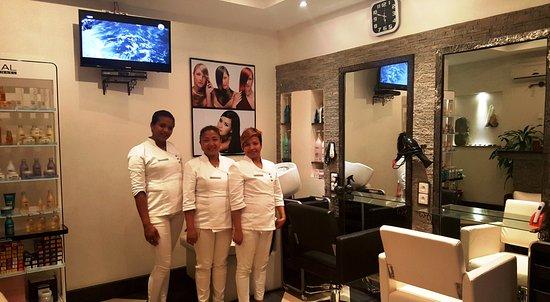 Salon de coiffure - Bild von Hotel Gregoire, Antananarivo ...
