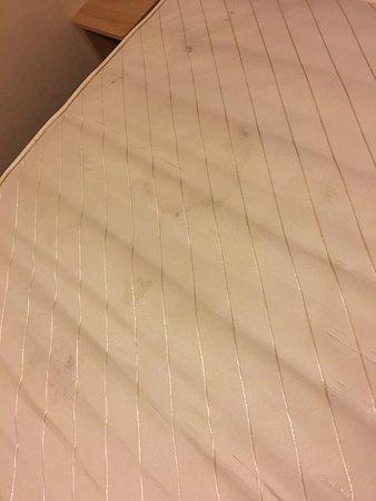 St Minver, UK: The mattress in the caravan also a door leak when it was raining.