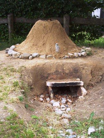 Molina di Ledro, Ιταλία: Ricostruzione di una fornace