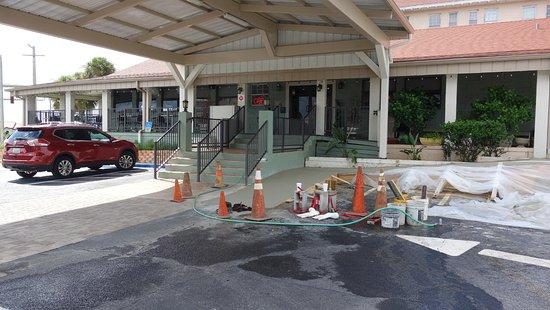 Sebring, FL: Facaden på restauranten