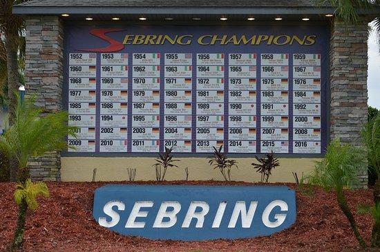 Sebring, FL: Hall of fame