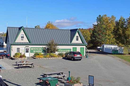 Greenville, ME: Katahdin office, museum, gift shop