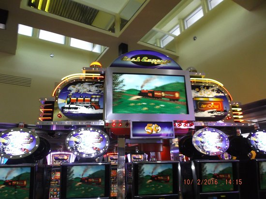 Train slot machines casino gold toure