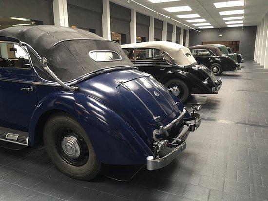 Museum für historische Maybach-Fahrzeuge: Different rears