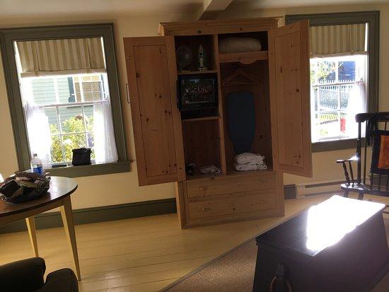 Port Rexton, Kanada: Living room.