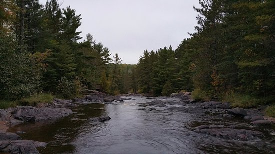 South Range, WI: One of the smoother sections of the river.