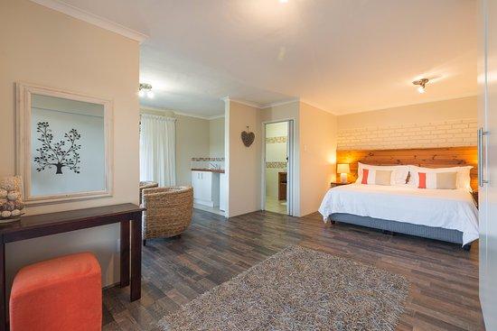 Wilderness, Sudáfrica: Sunbird {honeymoon suite Bedroom