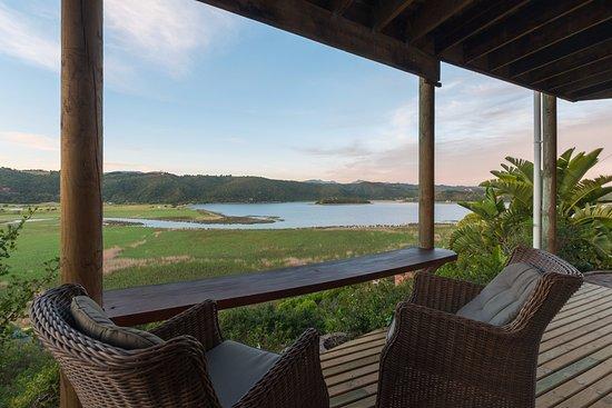 Wilderness, Sudáfrica: Sunbird suite patio