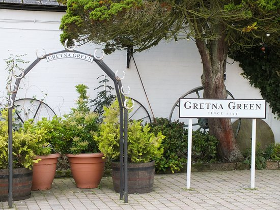 Gretna Green, UK: Kissing Gate