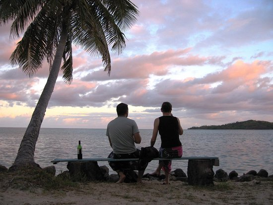 Tavewa Island, Φίτζι: The View from Davids...