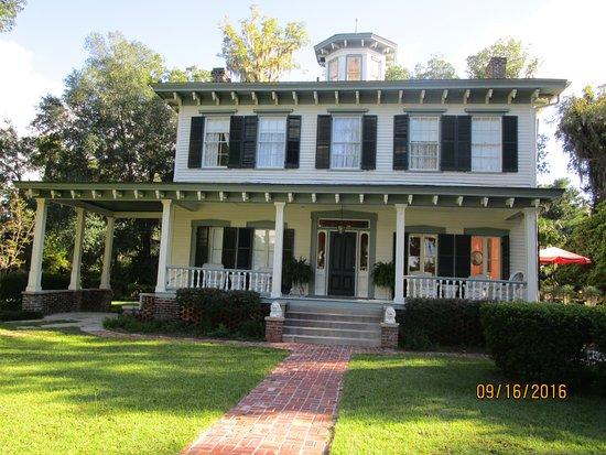 Monticello, FL: front view of 1872 John Denham House