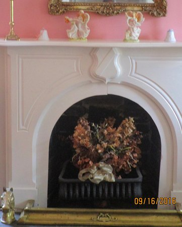 downstairs sitting room fireplace