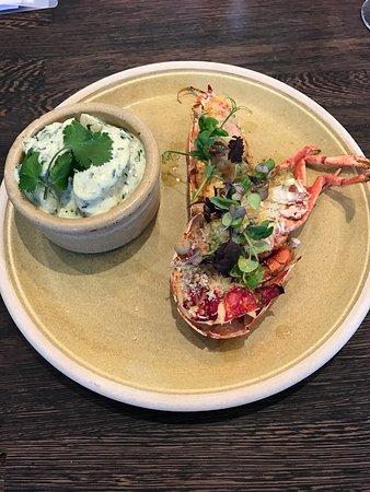 Langho, UK: Lobster