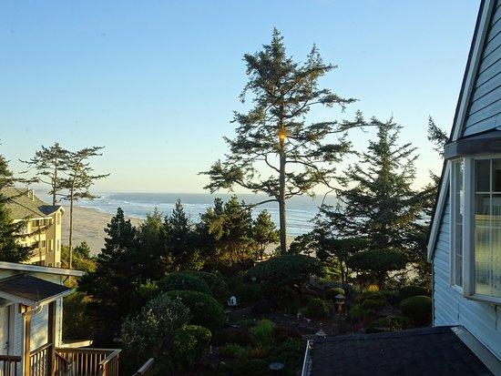 Ocean House Bed and Breakfast: la vue depuis la Windswept room