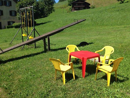 Schwyz, Sveits: Spielplatz