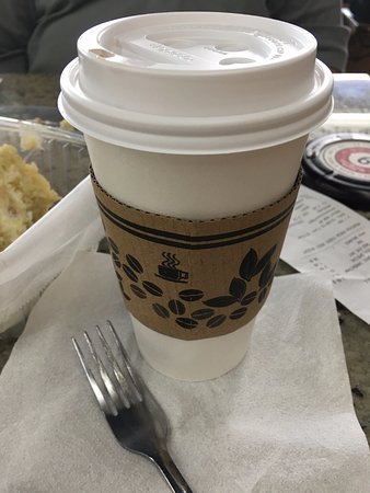 Mountain Fresh Grocery: Americano with heavy cream. One of THE best coffees I have ever had!