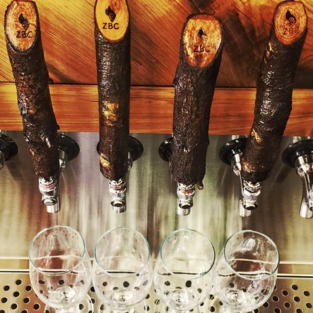 Zephyrhills, Flórida: Delicious beer from homemade taps