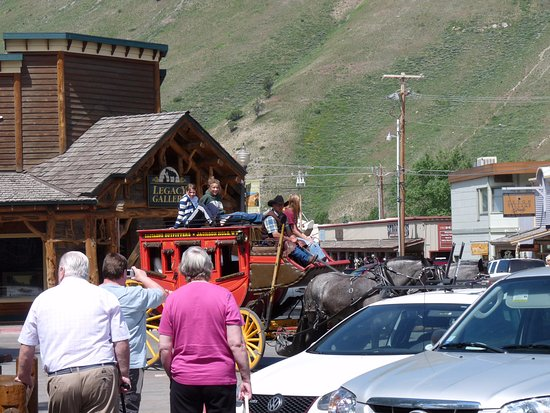 Stagecoach in Jackson Hole