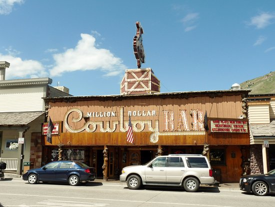 Jackson Hole, WY: Million Dollar Cowboy Bar