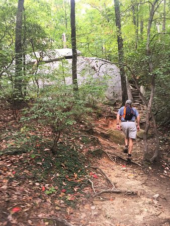 Pickens, SC: Table Rock - Lots of natural steps and stairs