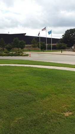 Chickasaw Cultural Center: This is the entrance to the center