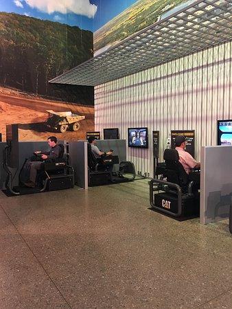 Peoria, IL: simulators allow you to operate equipment