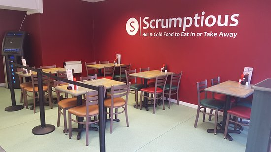 Wirral, UK: Scrumptious Cafe