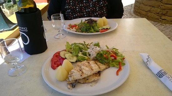Fortaleza da Luz Restaurante: Main course :-)