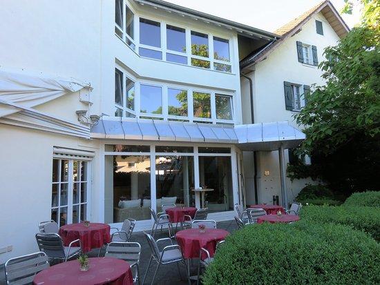 Hotel Krone Überlingen am Ried: Garden