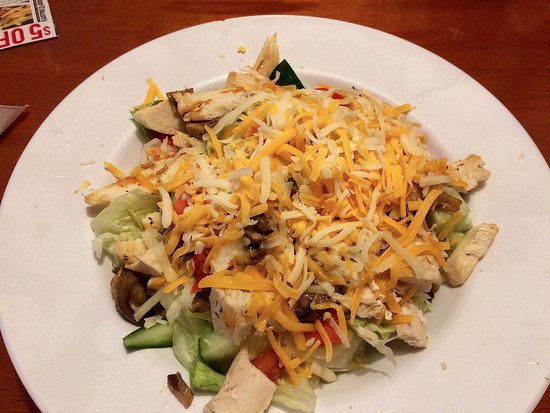 Brooksville, FL: Grilled Chicken Salad (large size)