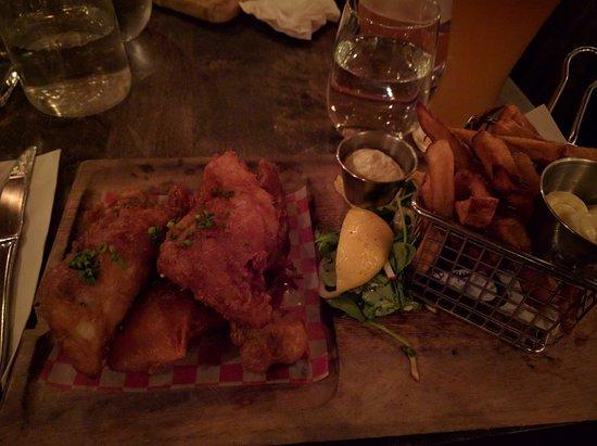 Beloeil, แคนาดา: Fish and chips